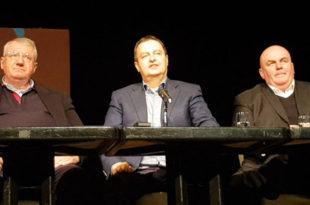 Коалиција: Дачић, Палма и Шешељ заједно у Мионици