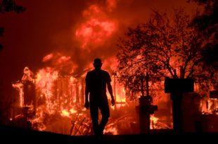 Ватрена стихија већ недељама прождире Калифорнију (видео)