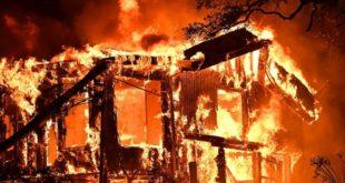 Калифорнија у пламену: Људи беже од ватрене стихије (видео)