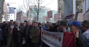 Протест малинара у Београду (видео) 9
