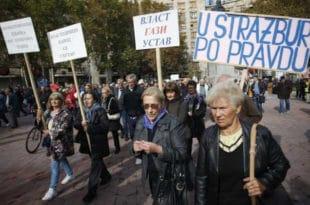 Пензионери туже државу Стразбуру због пензија