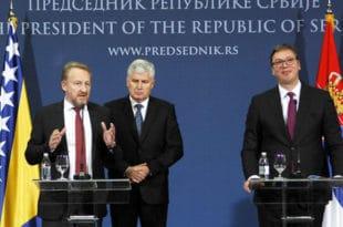 Изетбеговић направио дипломатски скандал у Београду (видео)