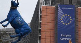 Сељаци у Бриселу обесили ЕУ теле и сукобили се са полицијом (видео) 10