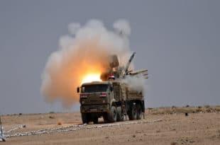 """Сиријска војска оборила израелске ракете """"земља-земља"""" 3"""