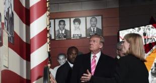 Црнци и грађанисти бојкотовали Трампову посету Музеју за грађанска права у Џексону