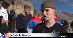 Милета Питулић први до Часног крста на језеру Газиводе (видео)