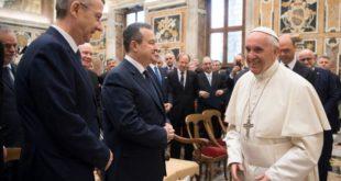 Ивица Дачић се састао са папом 2
