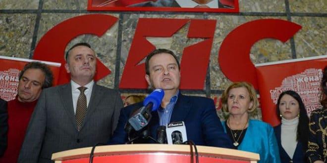 Издајник Вучић шутнуо издајника Дачића и СПС да сами изађу на београдске изборе