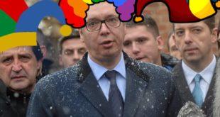 Уместо одговора ко је и зашто убио Оливера Ивановића, путујући циркус Александра Вучића на КиМ 11