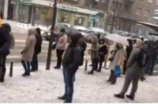 Колапс јавног превоза у Београду (видео)