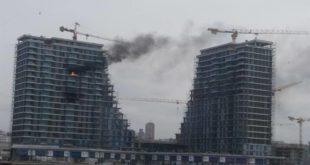 ПОЖАР У БЕОГРАДУ НА ВОДИ: Ватра локализована, три радника повређена 11