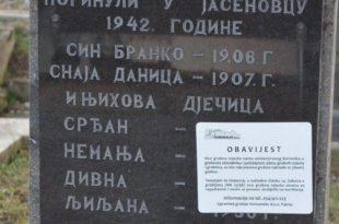 Хрвати уклањају трагове и сведоке усташког геноцида (фото)