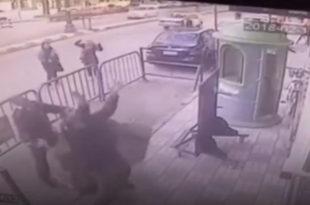 Полицајац спасао дете у паду са трећег спрата (видео)