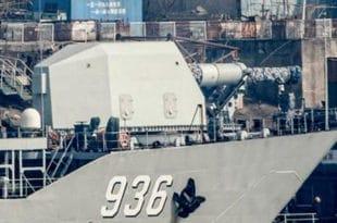 Кина поставила електромагнетни топ на ратни брод