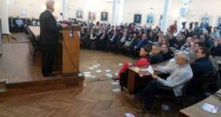 """Ниш: Амерички амбасадор Скот дочекан повицима """"Не у НАТО"""", """"убице"""" и """"Косово је Србија"""" 7"""