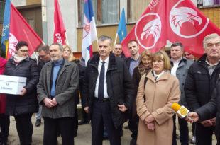 Проглашена изборна листа опозиције у Севојну (видео)