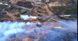 ГОРИ ЗЕМЉА! Вежбе руске артиљерије (видео)