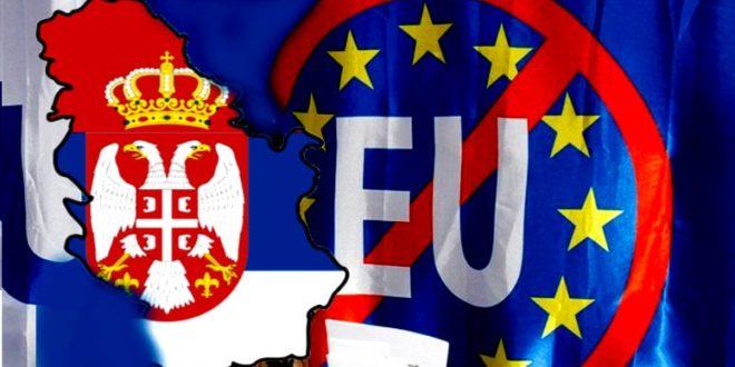 Прва српска влада која дође на власт ПРЕКИНУЋЕ све ЕУ интеграције Србије!