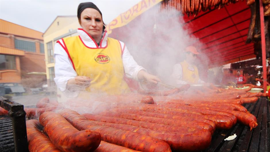 Туријска кобасица најдужа на свету - 2.034 метра