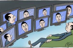 Режимски и окупациони медији Вучићевом велеиздајничком режиму дају 70% медијског простора 28