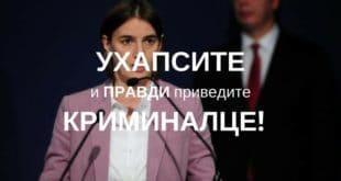 Ана Брнабић да поднесе НЕОПОЗИВУ ОСТАВКУ а тужилаштво да је кривично процесуира! 5