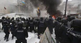 Украјина: Опет хаос у Кијеву, преко 100 ухапшених (видео) 2