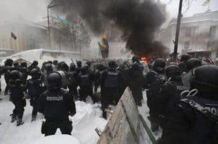 Украјина: Опет хаос у Кијеву, преко 100 ухапшених (видео)
