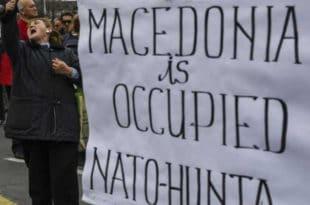 Протести у Прилепу: Македонију је окупирала НАТО хунта!