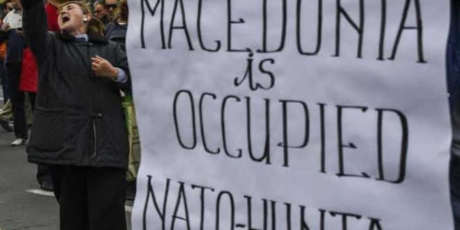 Протести у Прилепу: Македонију је окупирала НАТО хунта! 1