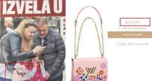 Одакле паре? Жена министра Стефановића носи торбу од 3.500 евра!