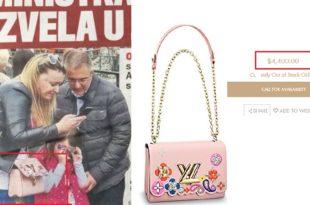 Одакле паре? Жена министра Стефановића носи торбу од 3.500 евра! 6
