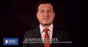 ДЕДЕИЋ: Једини сам предсједнички кандидат који није за улазак ЦГ у ЕУ (видео) 10