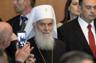 """СПЦ и патријарх Иринеј сматрају штетним Закон о заштити података о личности, јер сматрају да """"задире у унутрашњи правни поредак СПЦ"""""""