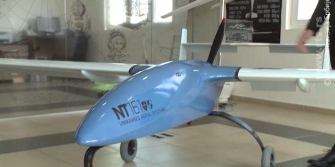 Српска беспилотна летелица НТ-161 (видео) 1