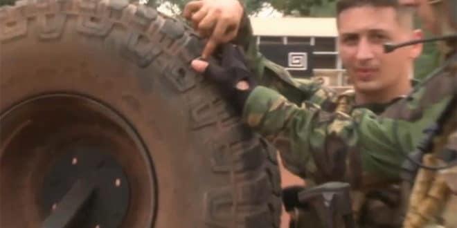 Српски војници у централно афричком паклу званом Банги 1