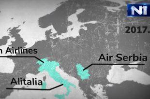 УПОЗОРЕЊЕ! Арапски Етихад банкротирао у Европи – ускоро се гаси и Ер Србија!