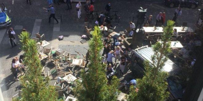 Терористички напад у Немачкој: Три особе погинуле, више од 50 повређених 1