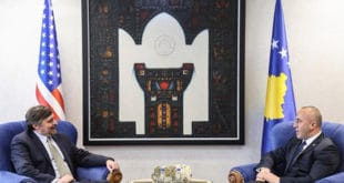 """Оснивач СНС Палмер обећао Харадинају да ће САД даље радити """"на јачању Косова као државе"""""""