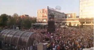Погледајте протест у Нишу који су режимски и окупациони медији цензурисали! (видео) 2