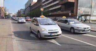 Београд: Таксисти најављују штрајк глађу 5