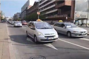 Београд: Таксисти најављују штрајк глађу