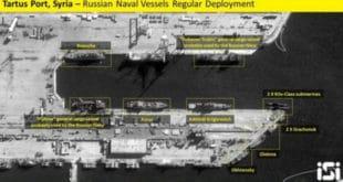Руска морнарица напушта сиријске луке, заузима борбене позиције у Медитерану 7