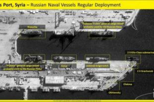 Руска морнарица напушта сиријске луке, заузима борбене позиције у Медитерану