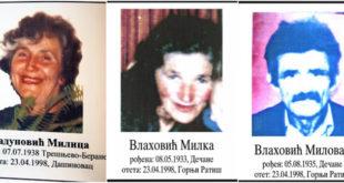 Навршава се 20 година од првих отмица и стравичног злочина тзв ''ОВК'' над Србима 12