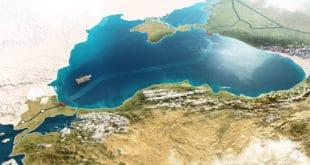 """Гаспром: Завршена изградња поморског дела првог крака гасовода """"Турски ток"""" 8"""