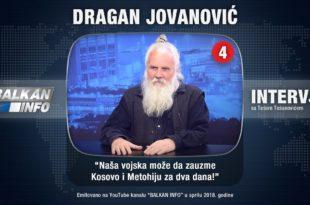 ИНТЕРВЈУ: Драган Јовановић - Вучић хоће каки, неће каки (видео)