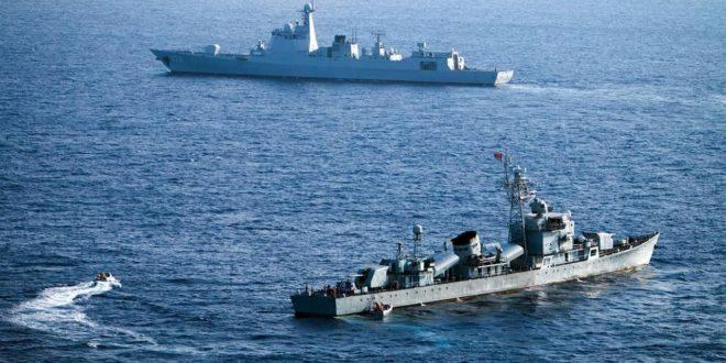 НЕЋЕШ ПРОЋИ! Кинеска морнарица препречила пут ратним бродовима Аустралије 1