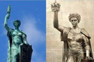 Како је влада Србије круну заменила илуминатском бакљом?