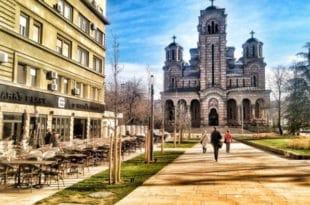 Плато испред Цркве Св. Марка реновиран да би Фолић отворио свој нови локал?!