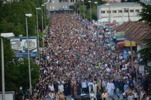 Никшићом прошла традиционална литија посвећена Светом Василију Остршком